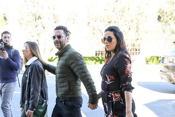Jose Baston Jose Baston and Eva Longoria Out and About
