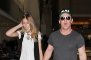 Josh Brolin and Kathryn Boyd Hold Hands at LAX