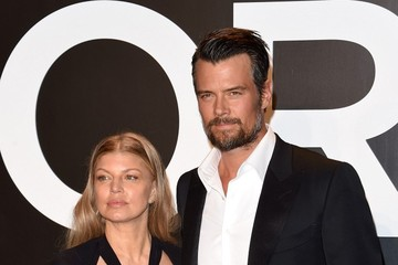 Josh Duhamel Celebs at the Tom Ford 2015 Womenswear Presentation