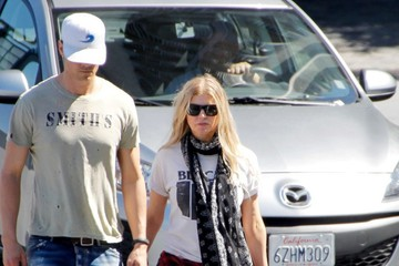 Josh Duhamel Josh Duhamel Spends the Day with His Family