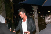 Josh Duhamel is seen in Los Angeles, California on February 23, 2019.