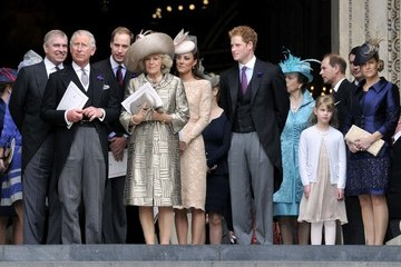Prince William Prince Charles Jubilee closing service