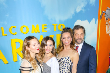 Judd Apatow Leslie Mann Universal Pictures And DreamWorks Pictures' Premiere Of 'Welcome To Marwen'