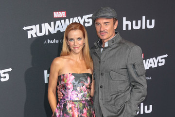 Julian McMahon Premiere of Hulu's 'Marvel's Runaways'