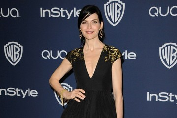 Julianna Margulies Arrivals at the InStyle/Warner Bros. Golden Globes Party