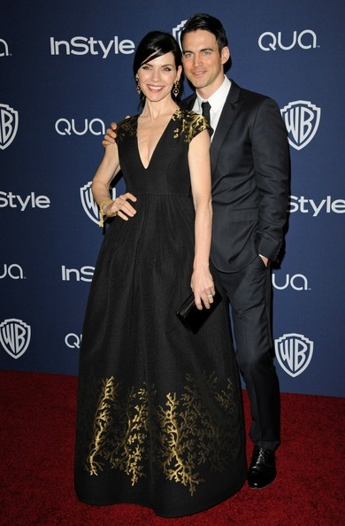 Julianna Margulies - Arrivals at the InStyle/Warner Bros. Golden Globes Party
