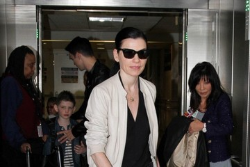 Julianna Margulies Julianna Margulies Seen at LAX