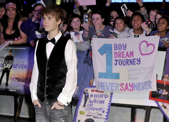 justin bieber never say never premiere london. London Premiere of quot;Never say