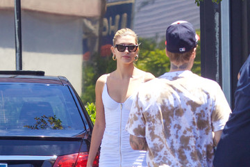Justin Bieber Hailey And Justin Bieber Seen In Los Angeles