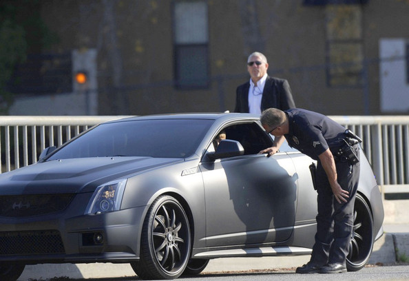 Justin Bieber - Justin Bieber Pulled Over in the 'Batmobile' 2