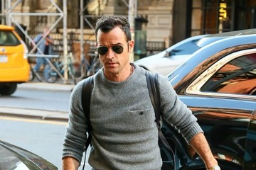 Justin Theroux Justin Theroux Out in New York City