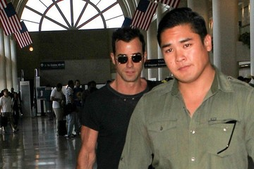 Justin Theroux Justin Theroux at LAX