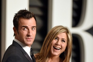 Justin Theroux Stars at the Vanity Fair Oscar Party