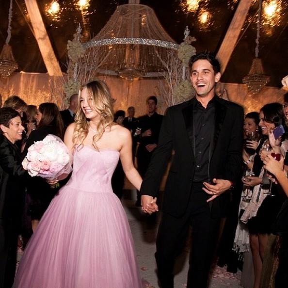 Celebrity Wedding Trivia Questions: Kaley Cuoco And Ryan Sweeting's Wedding Photos