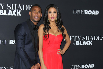 Kali Hawk Celebrities Attend the 'Fifty Shades of Black Premiere'