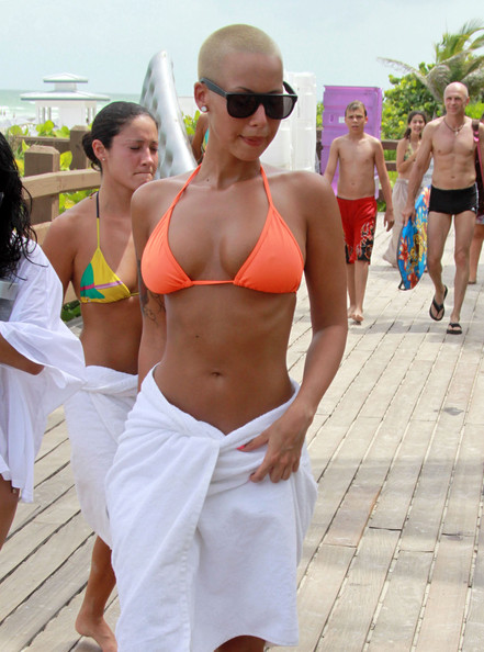 amber rose kanye west girlfriend. Kanye West and Amber Rose in