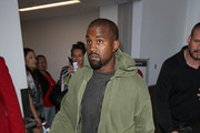 Kanye West Spotted at LAX