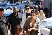 The Kardashians Arrive to The Ivy