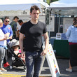 Kash Hovey Kash Hovey At The Farmer's Market In Studio City