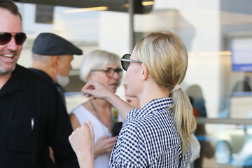 Kate Bosworth Kate Bosworth Arrives at LAX