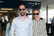 Kate Bosworth and Michael Polish at LAX