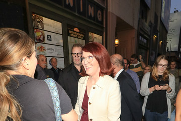 Kate Flannery Kate Flannery Attends Premiere Of 'School Of Rock' The Musical At The Pantages Theatre