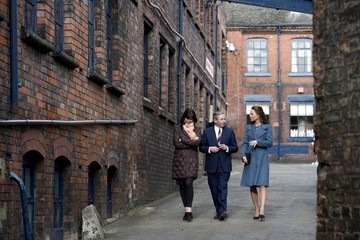 Kate Middleton Duchess Catherine Visits Pottery Factory
