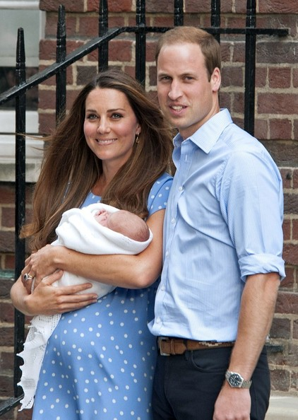 Kate Middleton and Prince William Show Off Their Baby — Part 3