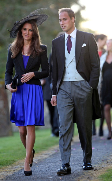 Kate Middleton Prince William and Kate Middleton attend the wedding between event rider Harry Meade and Rosemarie Bradford at the Church of St Peter and St Paul.