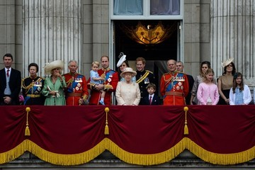 Kate Middleton Trooping The Colour 2015