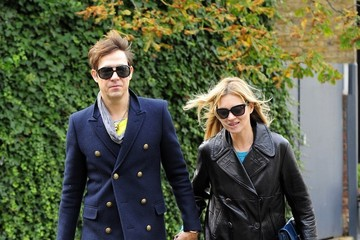 Kate Moss Kate Moss and Jamie Hince Out to Lunch