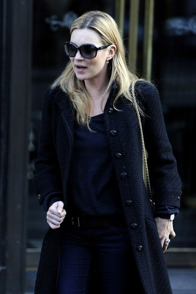 Kate Moss Kate Moss leaves the The Wolseley restaurant.