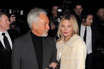Kate Moss Celebs at Playboy's 60th Anniversary Issue Party