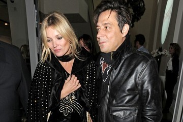 Kate Moss Celebs Leave the Rimmel Party in London