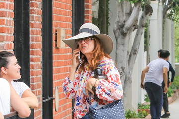 Kate Walsh Kate Walsh Is Seen Out and About