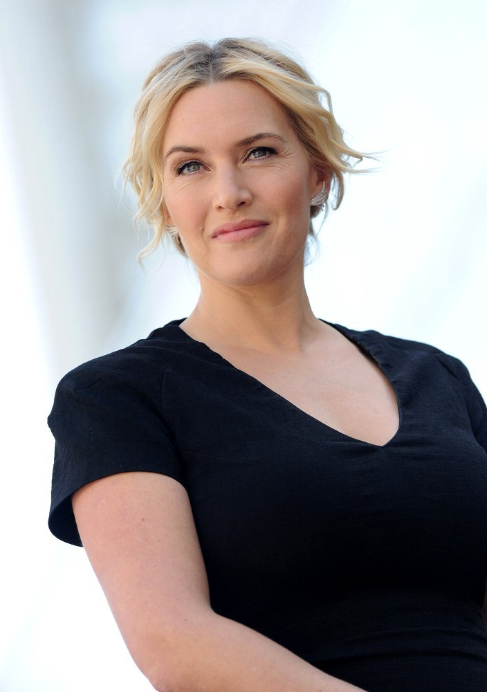 Hair Envy Of The Day: Kate Winslet's Carefree, Romantic Updo