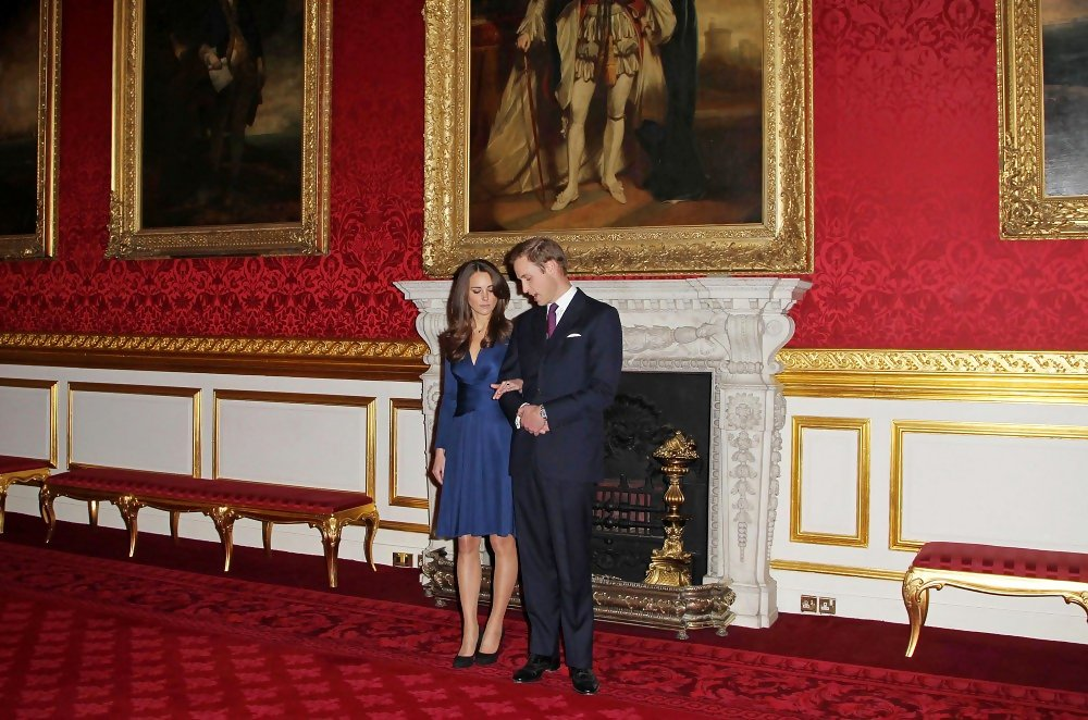 Prince William And Kate Middleton At St James Palace Zimbio