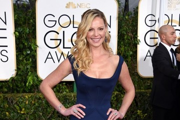 Katherine Heigl Arrivals at the Golden Globe Awards