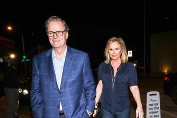 Kathy Hilton Rick Hilton Kathy Hilton Outside Craig's Restaurant In West Hollywood