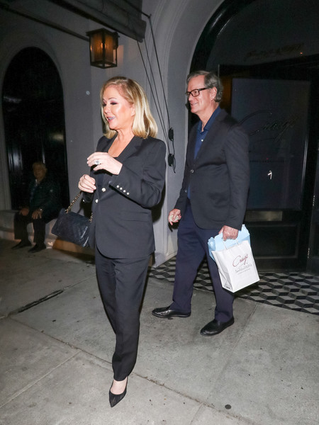 Kathy Hilton Outside Craig's Restaurant In West Hollywood