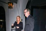 Kathy Hilton and Rick Hilton are seen in Los Angeles, California.