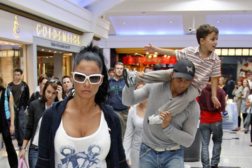 Katie Price Junior Andre Katie Price and Alex Reid Take the Kids Shopping