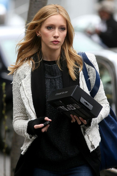 "Katie Cassidy ABC's new pilot ""Georgetown"" films in SoHo."