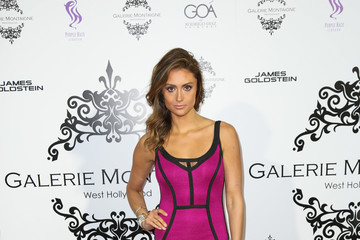 Katie Cleary Celebs Attend the Opening of Galerie Montaigne