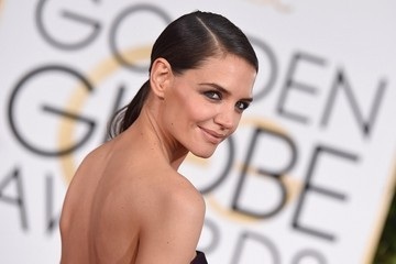 Katie Holmes Arrivals at the Golden Globe Awards