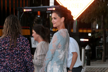 Katie Holmes Katie Holmes Out and About