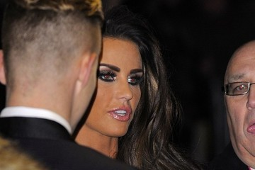 Katie Price The Sun Military Awards Arrivals