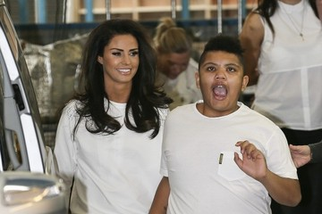 Katie Price Katie Price Leaves the ITV Studios