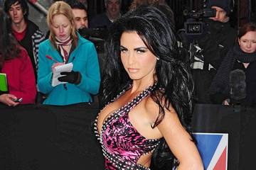 Katie Price Katie Price at the British Comedy Awards