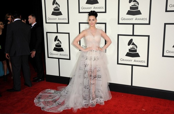Katy Perry - Arrivals at the Grammy Awards